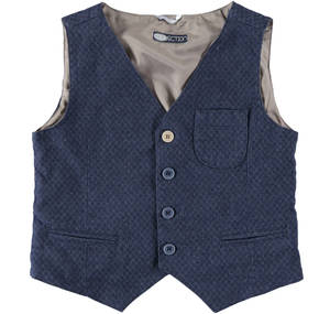 Waist jacket with breast pocket  BLUE