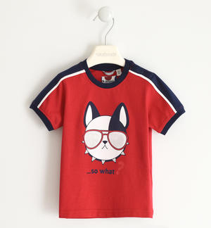 Witty 100% cotton t-shirt RED