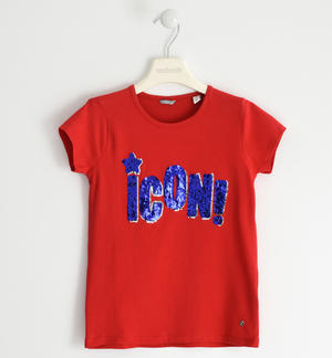 """Icon"" T-shirt with sequins"