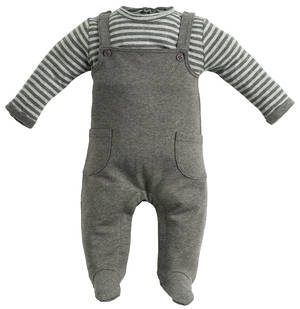 ROMPERS GREY