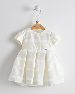 Spring Summer ceremony dress for baby girl CREAM