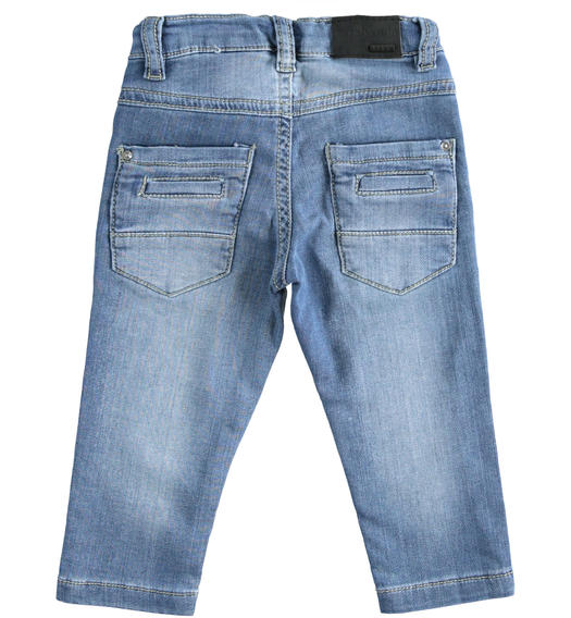 Denim tricot for baby boy from 6 months to 7 years Sarabanda STONE WASHED CHIARO-7400