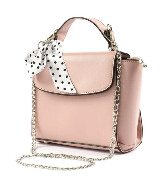 Elegant bag for girl in eco-leather from 6 to 16 years Sarabanda PINK-2714