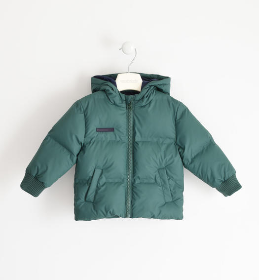 Winter jacket with heat-sealed chambers for boy from 6 months to 7 years Sarabanda VERDE-4726