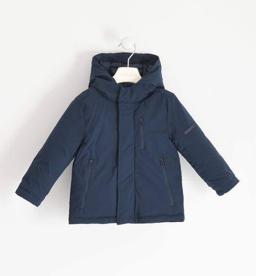 Sarabanda sports jacket in technical fabric for boy from 6 months to 7 years NAVY-3885