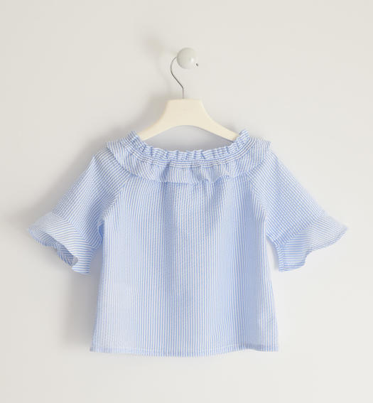 Pretty shirt with a curl for girl from 6 to 16 years Sarabanda SKY-5818