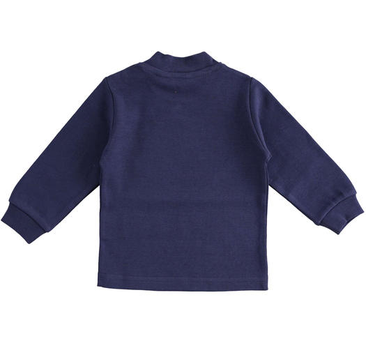 Cotton turtle neck for baby boys from 6 months to 7 years Sarabanda NAVY-3854