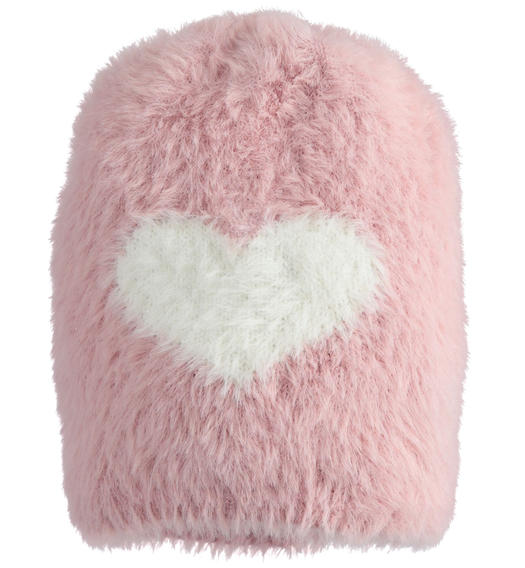 Soft beanie hat in special lurex tricot for girl from 6 months to 7 years Sarabanda ROSA-3031