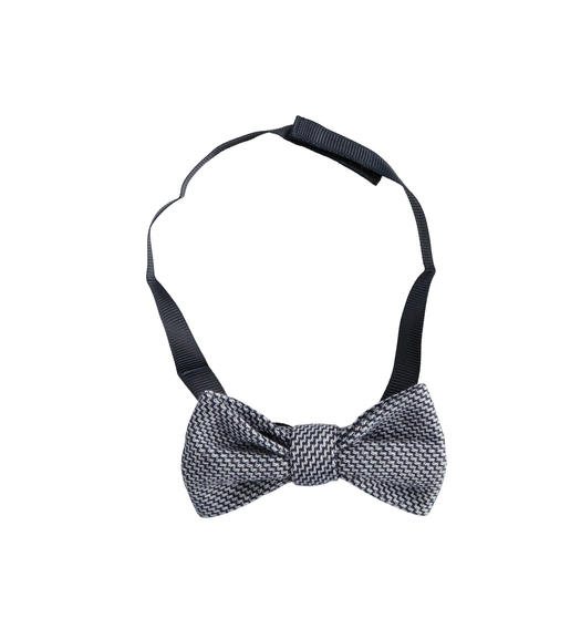 Jackquard bow tie for boy from 6 months to 7 years Sarabanda NAVY-3885