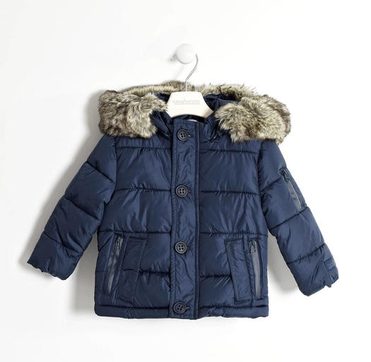 9dcdafd83f44 Sarabanda padded quilted jacket with internal writing for boys from ...