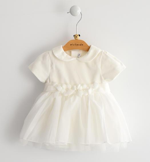 Vestiti Eleganti Neonata Online.Vestito Da Cerimonia Manica Corta Per Neonata Da 0 A 24 Mesi