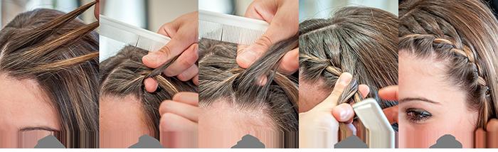 Cinque acconciature facili da fare in cinque minuti - capelli - il Blog di  Sarabanda 02697f2bc672